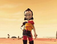 Yumi CL desert