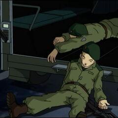 Нокаутирани војници.