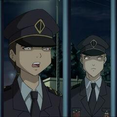 Полицајци.