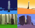 Lyoko's Way Towers