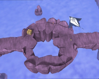 Manta circling around surrounded Aelita