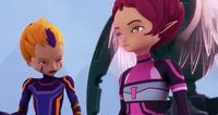 Aelita Preparing to Fly to the Tower