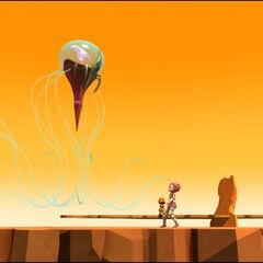 Медуза прилази клону (да ли може да га разликује од праве Аелите?)