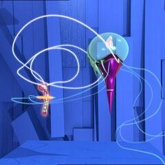 Медуза краде Аелитину меморију.