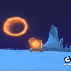 Блок пали ватрене прстенове.