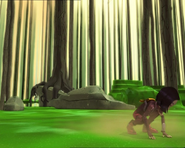 Code Lyoko - The Forest Sector - Rocks