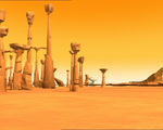 Code Lyoko - The Desert Sector - Spikes and Columns