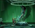 William Returns Jeremie and Aelita in lab