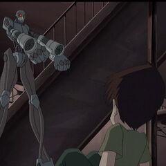 Робот се спрема да убије Улрика.