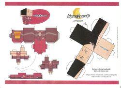 Papercraft yumi