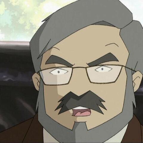 Жан-Пиер Делмас в анимационния сериал.