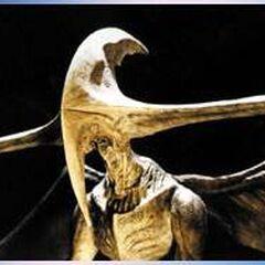 A close up of a Bioraptor