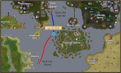 Tutorial Island routes