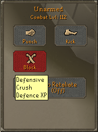 Melee-Defence