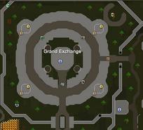 Grand Exchange mapa