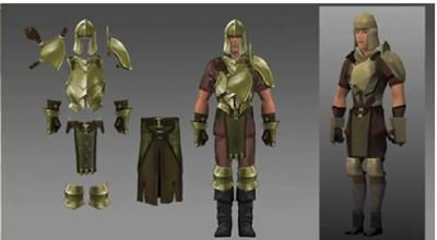 Bronze armour