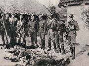 303px-Polish farmers killed by German forces, German-occupied Poland, 1943