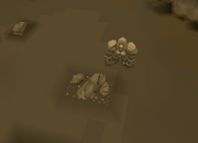 Concentrated gold ore