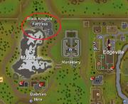 Black Knight Fortress location