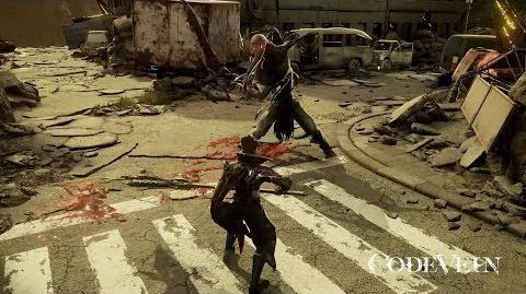 『CODE VEIN』プレイ動画 (基本攻撃)