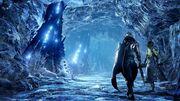 Frozen sacred mountain