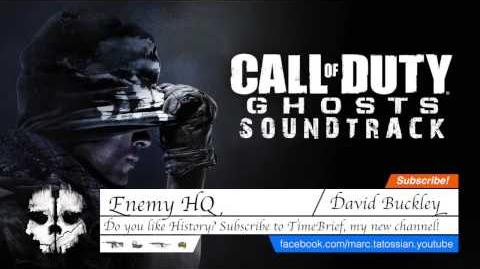 Call of Duty Ghosts Soundtrack Enemy HQ