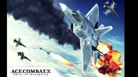 Skies Of Deception - 01 25 - Ace Combat X Original Soundtrack
