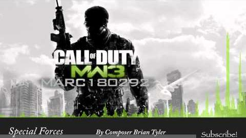 MW3 Soundtrack Special Forces