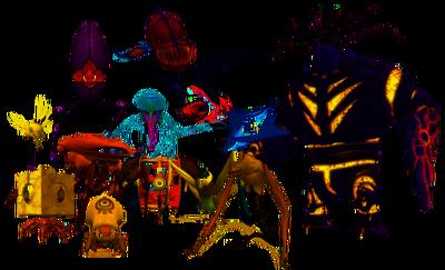 Monstruos de XANA