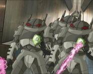 Robots atacando