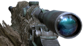 M21 Silencer with Ghillie Camouflage
