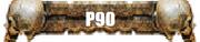P90 skull