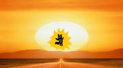 The beast that raises the sun.