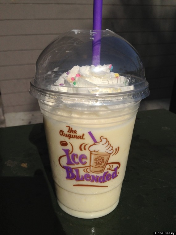 Image O Coffee Bean Birthday Cake Ice Blended 570g The Coffee