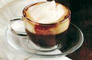 Caffe corretto panna
