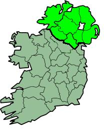 Map of Ireland and Holidia