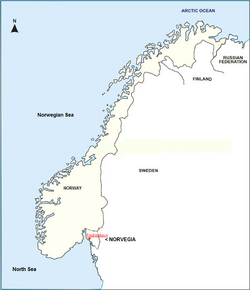 Norway-outline-map