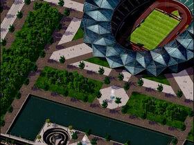 Leah-simlympic-stadium