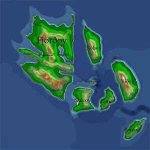 Map of kalduroyar