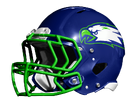 Kalama Eagles helmet