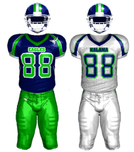 Kalama Eagles uniform
