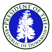 Seal of the President of Duwamish