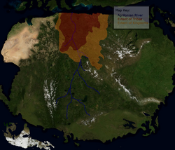 Location of Tribes