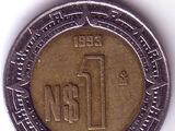 MXN 1993 1 Peso