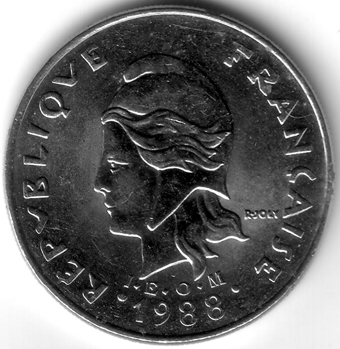 Xpf 1988 20 Franc Coin Collecting Wiki Fandom Powered