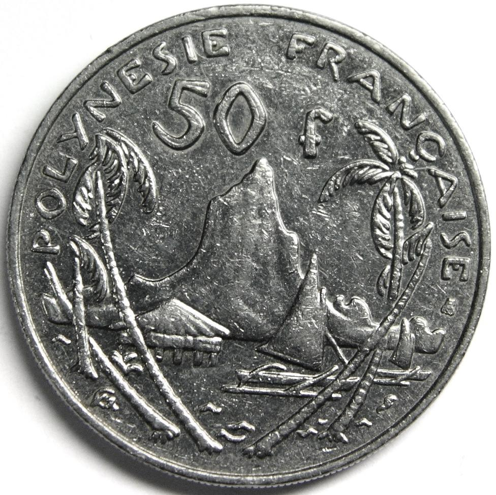 Xpf 50 Franc Coin Collecting Wiki Fandom Powered By Wikia