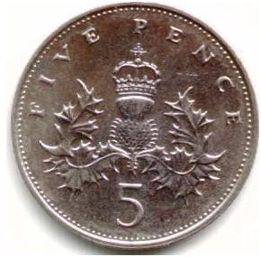 GBP 5 Penny | Coin Collecting Wiki | FANDOM powered by Wikia