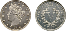 1913 Eliasberg Liberty Head Nickel