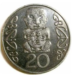 NZD 20 Cent