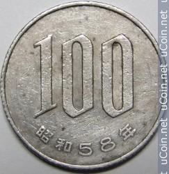 JPY 1983 100 Yen